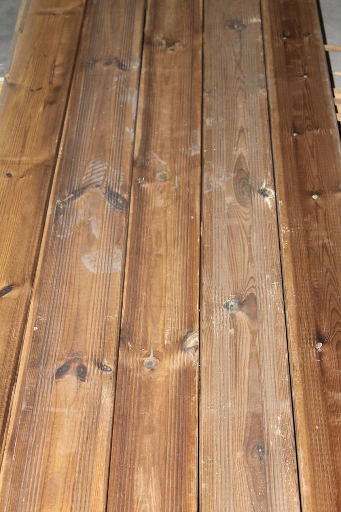 Terrasse (sapin autoclavé marron)